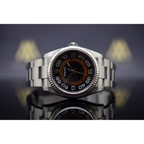 Rolex Oyster Perpetual Acero 36mm Negro