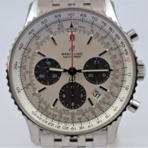 Breitling Navitimer 1 B01 Chronograph 43 Stahl 43mm Silber Keine Ziffern