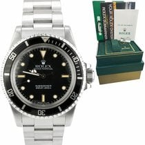 Rolex Submariner (No Date) Сталь 40mm Черный
