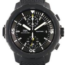 IWC Aquatimer Chronograph Stål 44mm Svart Ingen tall