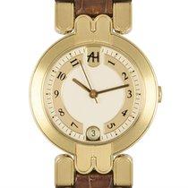 哈利温•斯顿 Premier 黃金 30mm 銀色 阿拉伯數字