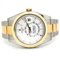 Rolex Sky-Dweller Gold/Steel 42mm White Arabic numerals United States of America, Florida, Aventura