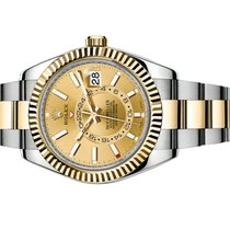 Rolex Sky-Dweller 326933 Champagne New Gold/Steel 42mm Automatic United States of America, Florida, Aventura