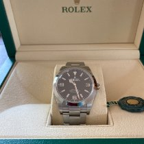 Rolex Explorer Steel 39mm Black Arabic numerals United States of America, Florida, fort lauderdale