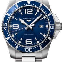 Longines HydroConquest Steel 44mm Blue United States of America, Michigan, Toronto