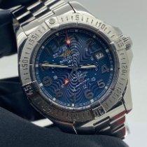 Breitling Colt GMT Stahl Blau Arabisch