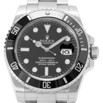 Rolex Acier Remontage automatique 40mm occasion Submariner Date