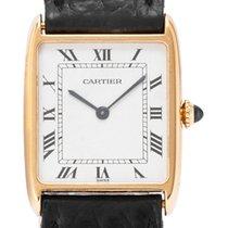 Cartier Tank (submodel) Жёлтое золото 23mm