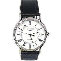 Longines Présence Steel 38.5mm White Roman numerals United States of America, New York, New York