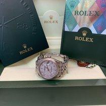 Rolex Lady-Datejust Acero y oro 31mm Plata Sin cifras