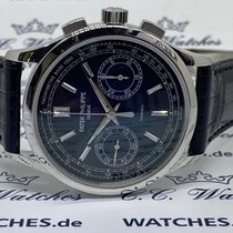 Patek Philippe Chronograph Platinum 39.4mm Blue
