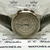 Patek Philippe Chronograph Oro blanco 40mm Plata