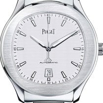 Piaget Polo S Steel 42mm Silver No numerals United States of America, Texas, Houston