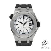 Audemars Piguet Royal Oak Offshore Diver Steel 42mm White No numerals United States of America, New York, New York