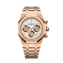 Audemars Piguet Or rose Remontage automatique Argent 38mm nouveau Royal Oak Chronograph