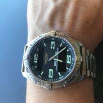 Breitling Aerospace gebraucht 40mm Schwarz Chronograph Titan