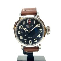 Zenith Pilot Type 20 GMT new 2017 Automatic Watch with original box and original papers 03.2430.693/21.C723