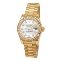 Rolex Lady-Datejust Yellow gold 26mm Mother of pearl United States of America, New York, New York