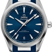 Omega Seamaster Aqua Terra Steel 38mm Blue No numerals United States of America, Florida, Hollywood