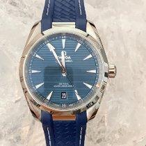 Omega Seamaster Aqua Terra Acero 38mm Azul Sin cifras