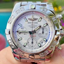 Breitling Chronomat 41 Steel 41mm Silver United States of America, Texas, Plano