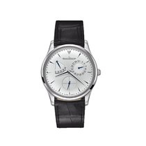 Jaeger-LeCoultre Master Ultra Thin Réserve de Marche Steel 39mm Silver No numerals United States of America, Indiana, INDIANAPOLIS