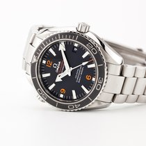 Omega Seamaster Planet Ocean Steel 42mm Black Arabic numerals United States of America, New Jersey, Oradell
