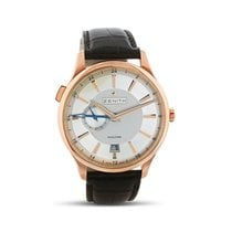 Zenith Elite Dual Time Rose gold Silver United States of America, Indiana, INDIANAPOLIS