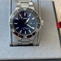 Oris Hammerhead Limited Edition Acier 45.5mm Bleu Sans chiffres