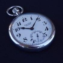 Seiko Silver Manual winding White Arabic numerals 50mm pre-owned