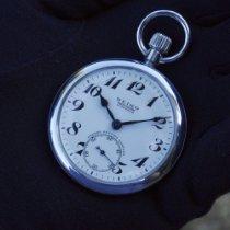Seiko Srebro Rucno navijanje Bjel Arapski brojevi 50mm rabljen
