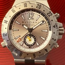 Bulgari Steel 40mm Automatic GMT40S pre-owned