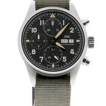IWC Pilot Spitfire Chronograph новые 2021 Автоподзавод Хронограф Часы с оригинальными документами и коробкой IW387901