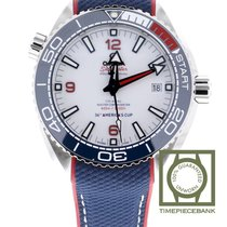 Omega Seamaster Planet Ocean Staal 43.5mm Wit Arabisch