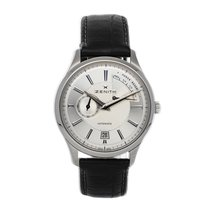 Zenith Captain Power Reserve Steel 40mm Silver No numerals United States of America, Pennsylvania, Bala Cynwyd