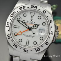 Rolex Acero 42mm Automático 216570 White nuevo