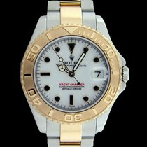 Rolex Yacht-Master Gold/Steel 35mm White No numerals South Africa, PRETORIA