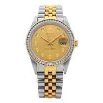 Rolex Oyster Perpetual Date Gold/Steel 35mm Gold No numerals United States of America, Florida, Sarasota