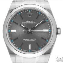 Rolex Oyster Perpetual 39 neu 2019 Automatik Uhr mit Original-Box und Original-Papieren 114300