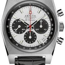 Zenith Steel Automatic White 37mm new El Primero Chronomaster