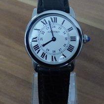 Cartier Ronde Solo de Cartier Stahl 29mm Silber Römisch Deutschland, Niederbayern