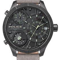 Police Acero 52mm Cuarzo PL15662XSQS.02 nuevo