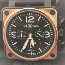 Bell & Ross BR 01-94 Chronographe BR01-94 Sehr gut Roségold 46mm Automatik