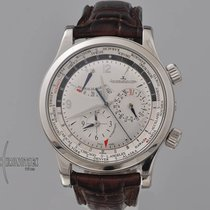 Jaeger-LeCoultre Master World Geographic Acero 43mm Plata