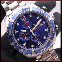 Certina DS Action Steel 45,7mm Blue Arabic numerals