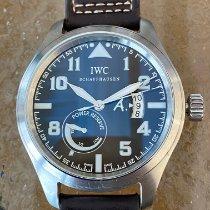 IWC Pilot Ατσάλι 44mm Καφέ Αραβικοί
