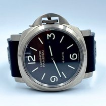Panerai Luminor Base 8 Days Titane 44mm Noir Arabes