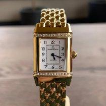 Jaeger-LeCoultre Ceas femei Reverso (submodel) 21mm Cuart folosit Ceas cu cutie originală și documente originale 2001