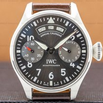 IWC Big Pilot Steel 46mm Grey Arabic numerals United States of America, Massachusetts, Boston