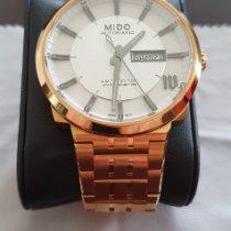 Mido Multifort gebraucht 42mm Weiß Datum Stahl